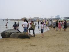 Jinshan - plage artificielle