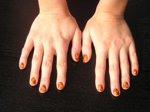 mains Véro
