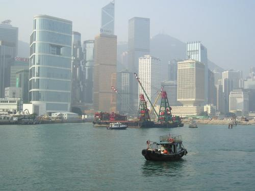 Hong Kong - port