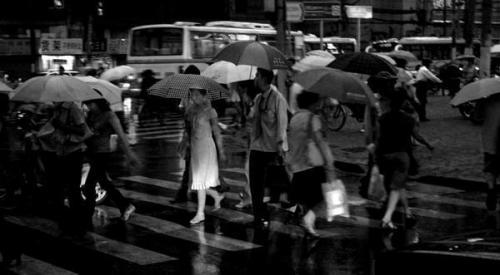 Shanghai pluie
