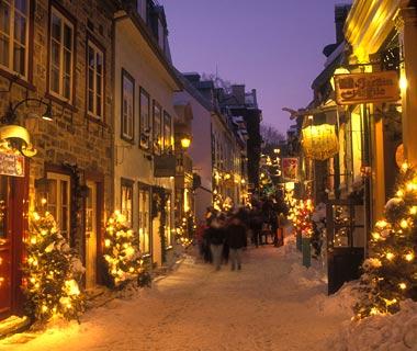 Québec enneigé