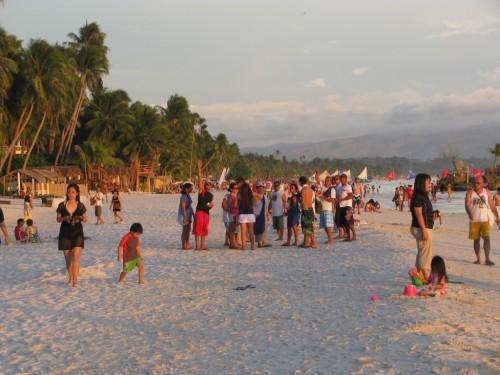 Boracay - people