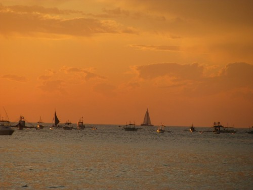 Boracay - sunset