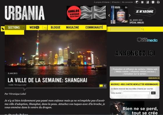 shanghai urbania