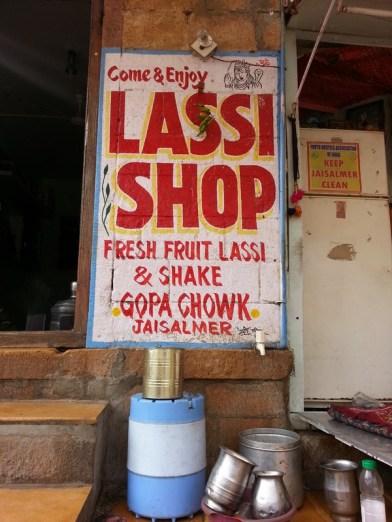 Jaisalmer - Lassi shop